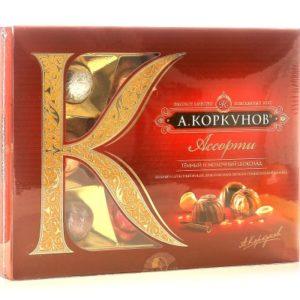 конфеты Коркунов в ассортименте